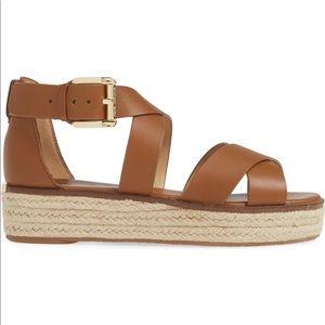 'Darby' Crisscross Espadrille Sandal